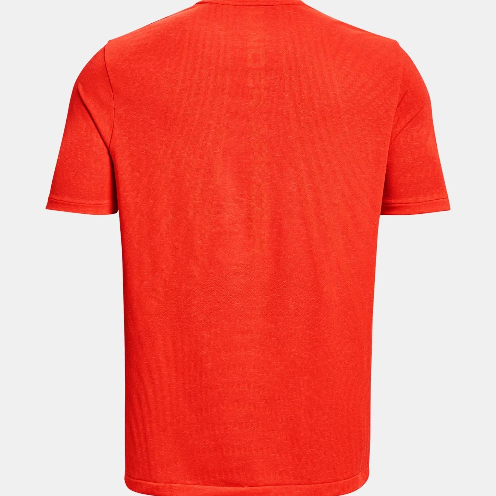 Under Armour UA Rush Seamless Illusion SS-Orange