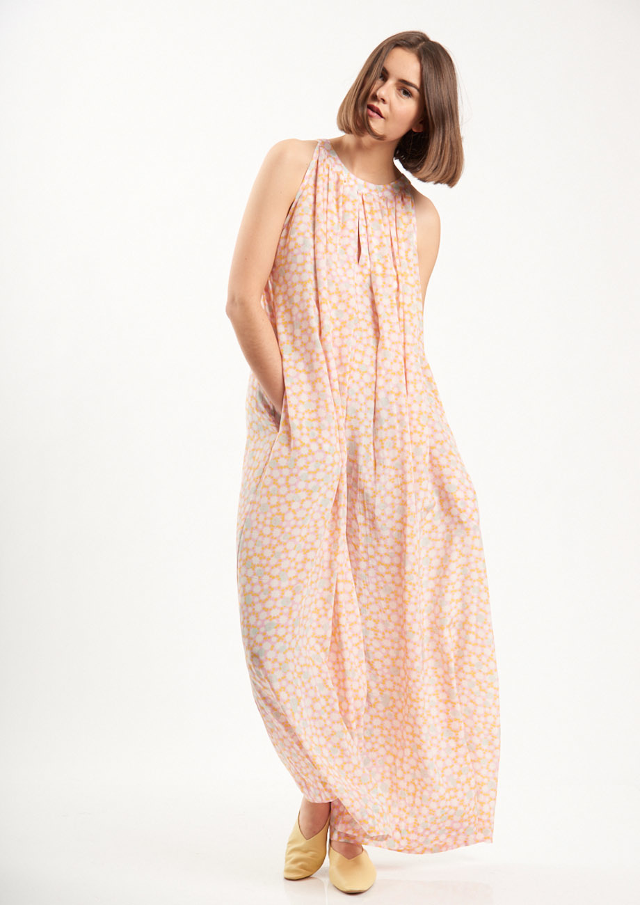 SILK OVERALL - PALE-2