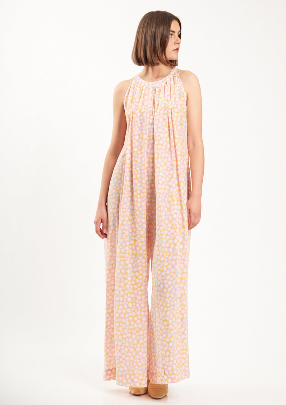 SILK OVERALL - PALE-5