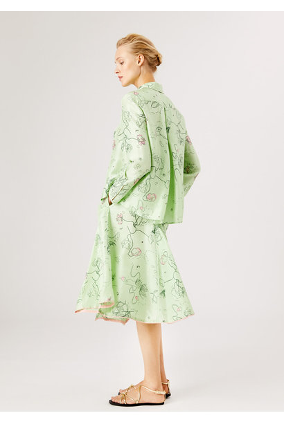 ANGEL BLOUSE - PASTEL GREEN