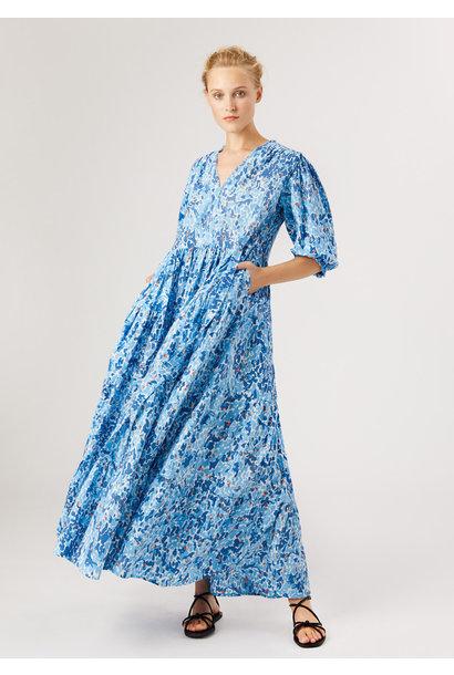 WEEKEND DRESS LANG - BLAU