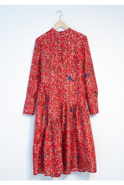FAVORITE SILK DRESS - RED