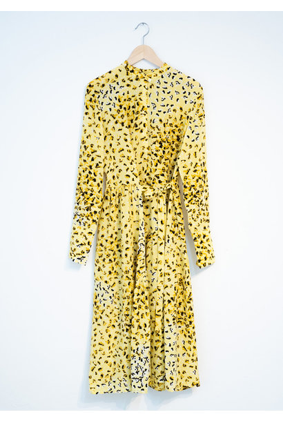 FAVORITE SILK DRESS - YELLOW