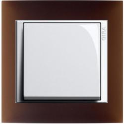 Event Opak dunkelbraun matt weiß glänzend