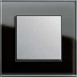 Esprit glas schwarz