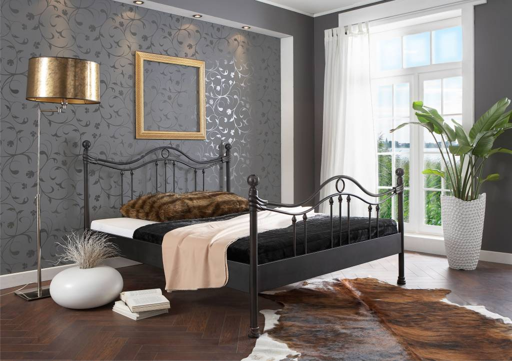 Kidsmill sixties crib white and dark pine modernnursery