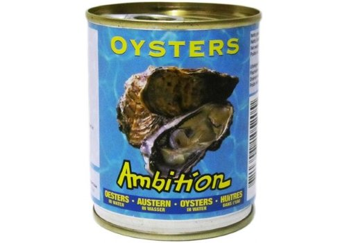 Ambition Oesters in water