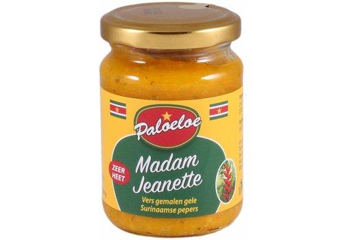 Paloeloe Sambal madam jeanette geel