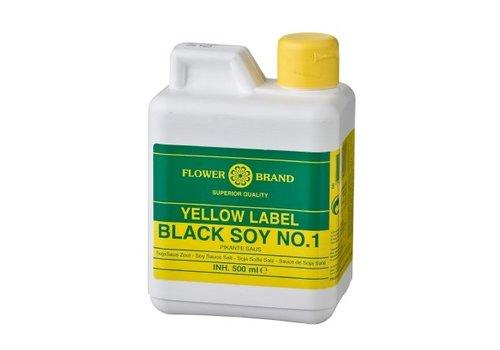 Flowerbrand Sojasaus yellow label