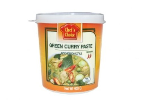Chef`s Choice Currypasta groen