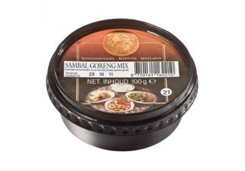 Koningsvogel Boemboe sambal goreng