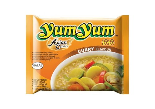Yum Yum Noedels curry