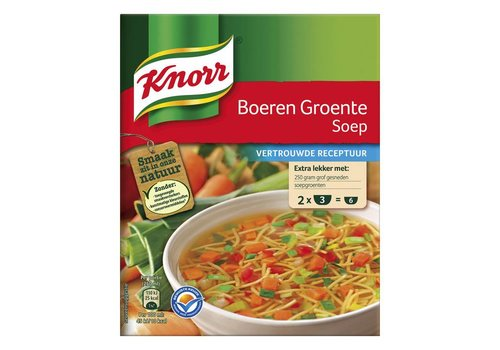 Knorr Boeren groentesoep
