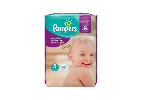Pampers Active-Fit Maat 5, 11-23 kg.