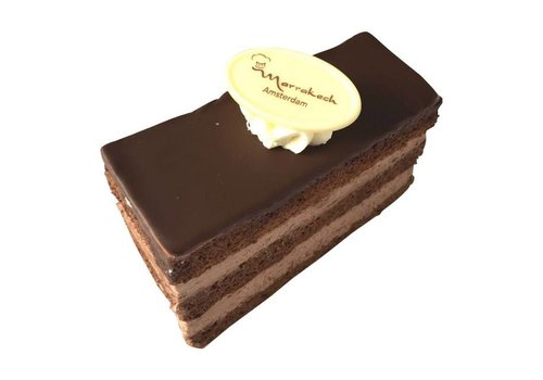 MARRAKECH - Chocolade gebakje met laagje choco