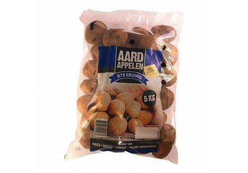 Aardappelen iets kruimig