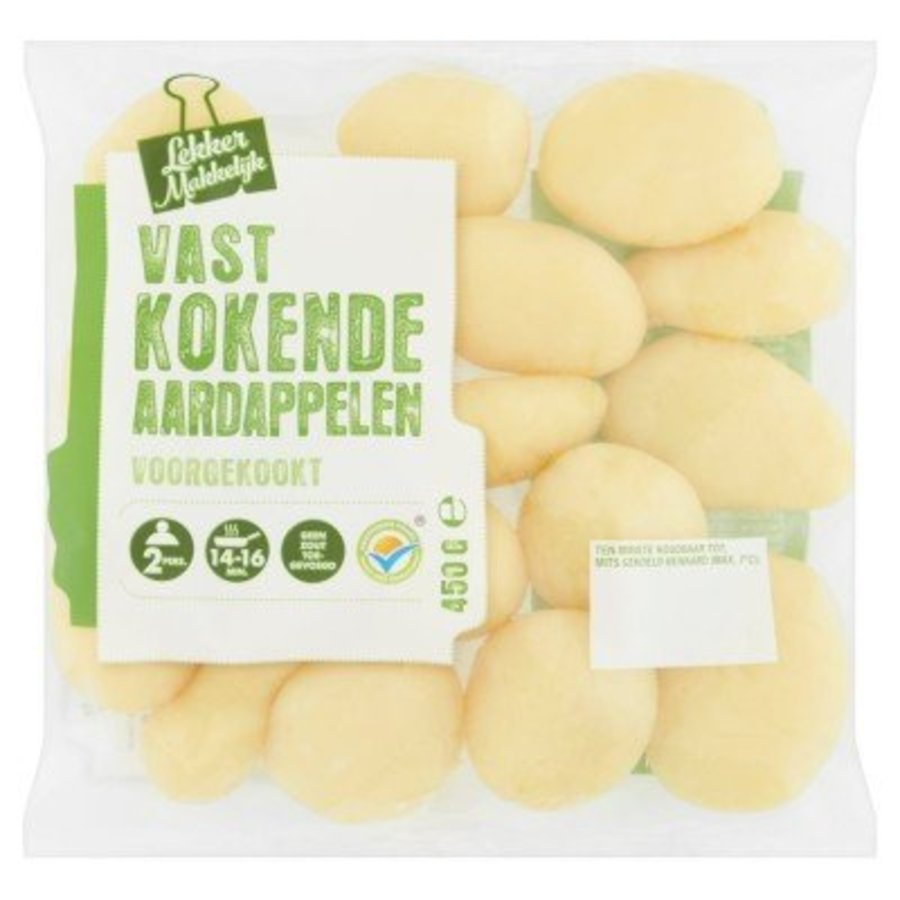 Vastkokende Aardappelen Voorgekookt