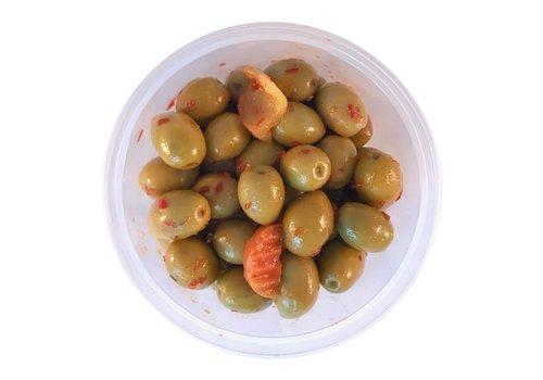 MIJN Pikante olijven met pit