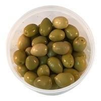 Groene olijven met pit