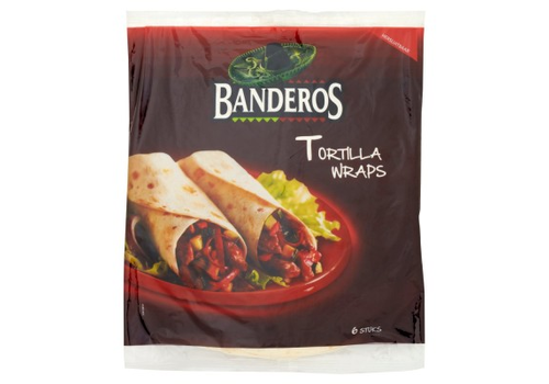 Banderos Tortilla wraps