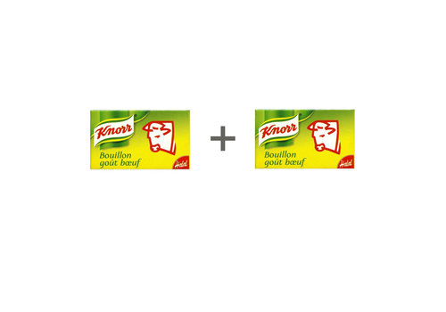 Knorr Bouillon rund duopack