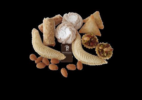 RAHMOUNI Luxe notenkoekjes medium