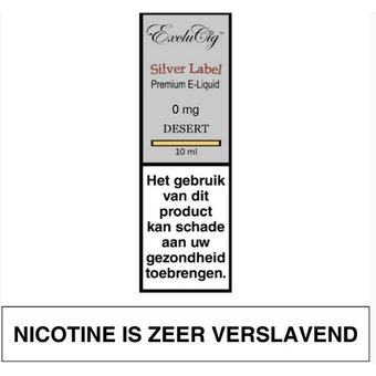 ExcluCig Silver Label Desert e-liquid