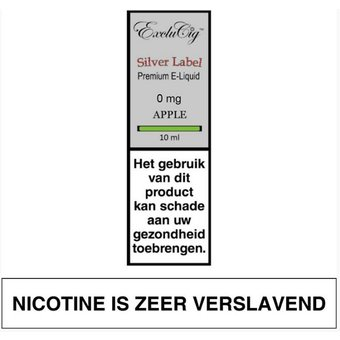 ExcluCig Silver Label Apple liquid
