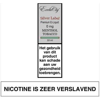 ExcluCig Silver Label Menthol Tobacco liquid