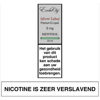 ExcluCig Silver Label Menthol e-liquid
