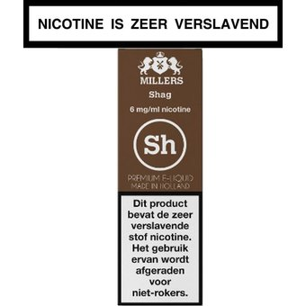 Millers Juice Silverline shag e-liquid