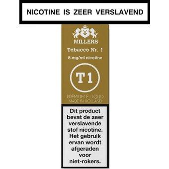 Millers Juice Silverline Tobacco nr.1