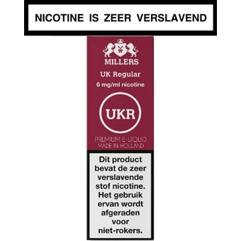 Millers Juice Silverline Uk regular e-liquid