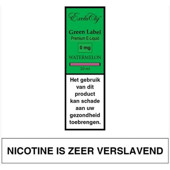 EXCLUCIG GREEN LABEL Watermelon e-liquid