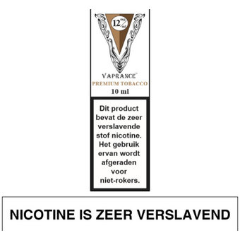 Vaprance White Label Premium Tobacco e-liquid
