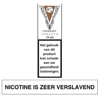 Vaprance White Label Tobacco e-liquid