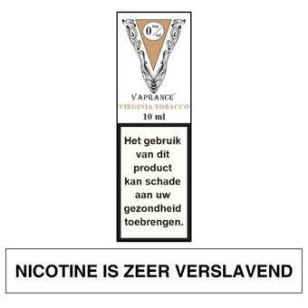 Vaprance White Label Virginia Tobacco e-liquid
