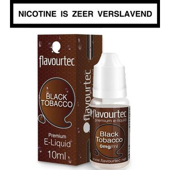 Flavourtec Black Tobacco e-liquid