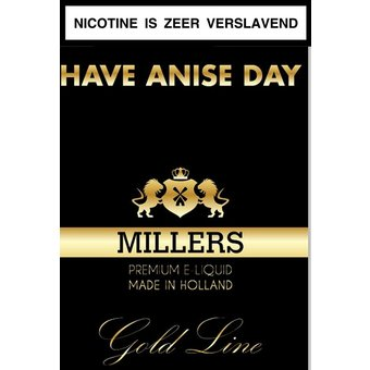 Millers Juice Goldline Have anice day e-liquid