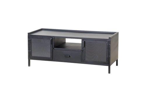 Eleonora Industrieel metalen TV-meubel