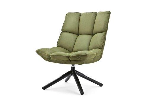 Eleonora collectie Fauteuil Daan groen