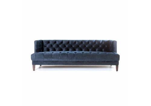 Eleonora Bank Vogue blauw velvet