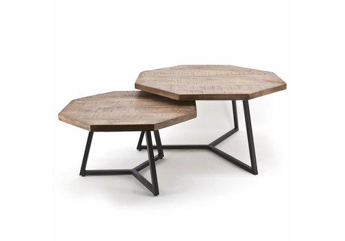 By-Boo Salontafel Octagon (set van 2 tafels)