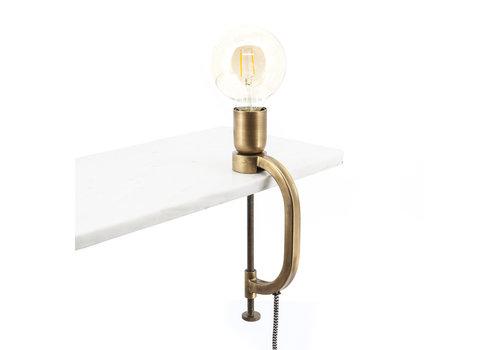 By-Boo Tafellamp Klamp goud