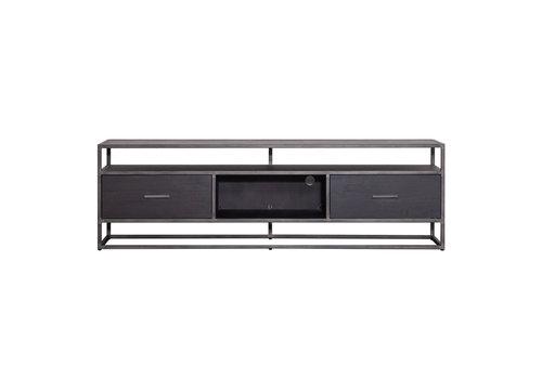 Eleonora TV-meubel Hudson 185cm zwart
