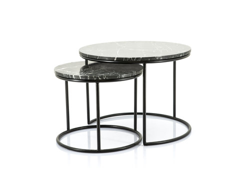 By-Boo Marmer Salontafel set Romeo