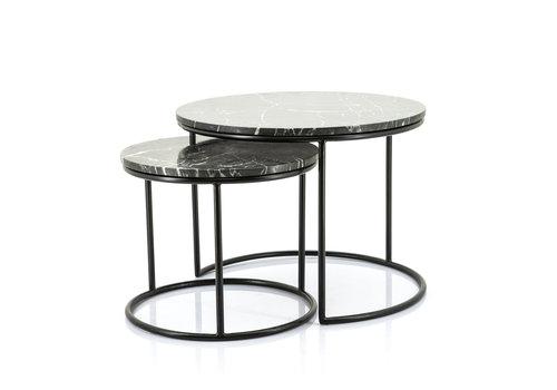 By-Boo Salontafel Romeo (set van 2 tafels)