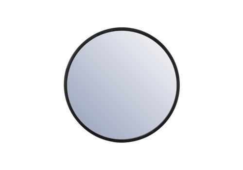 By-Boo Ronde Spiegel Selfie klein - zwart