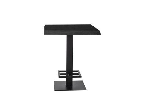 Eleonora Countertafel 80x80cm zwart