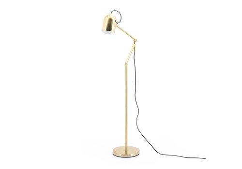 By-Boo Vloerlamp Sleek goud